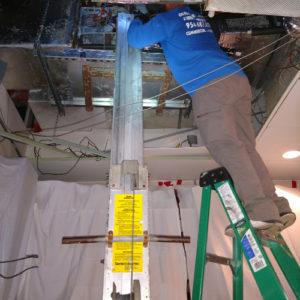 5 Ton Air Handler Install - Arturos Restaurant